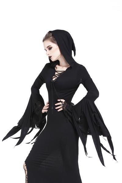 Black Black Magic Banned Vestito gotico Alternative L