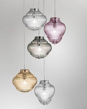 Zafferano Bespoke Glass Lighting Nuove Collezioni 2018 A Light Building Lampade Da Tavolo Tavolo Vetro
