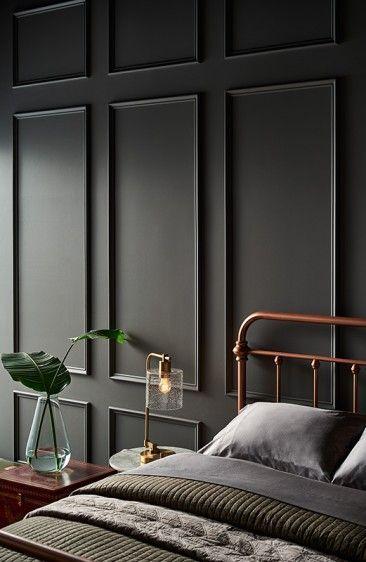Los 10 Colores De Pintura Gris Disenadores Siempre Use In 2020 Bedroom Interior House Interior Interior