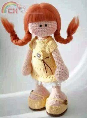 bambole amigurumi spiegazioni