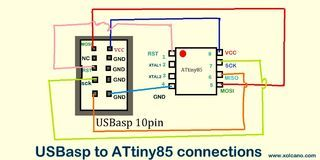 Diy Tiny Arduino Without Crystal Arduino Arduino Projects Crystals