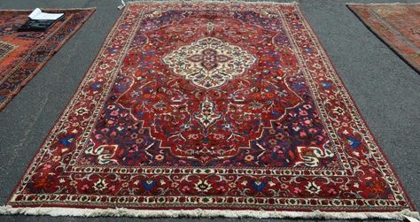 6 4 X 10 Fine Genuine Persian Bakhtiari Chahar Mahal Hand