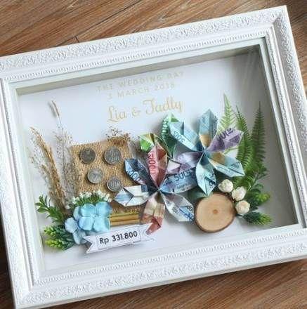 16 Ideas Wedding Diy Present Design Wedding Gift Money Diy Wedding Gifts Wedding Frame Gift