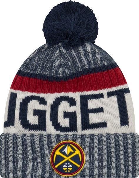100% authentic 44413 e9707 ... store new era mens denver nuggets knit hat blue 1f607 4fd16