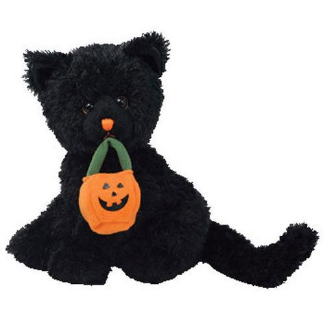 Halloween Bear Ty Beanie Babies Pocus BBOM October 2005