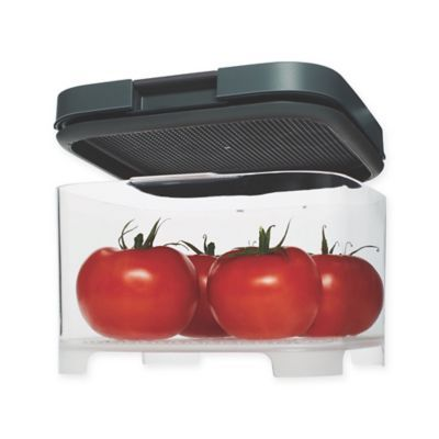 Rubbermaid Freshworks Countertop Medium Produce Container With Lid