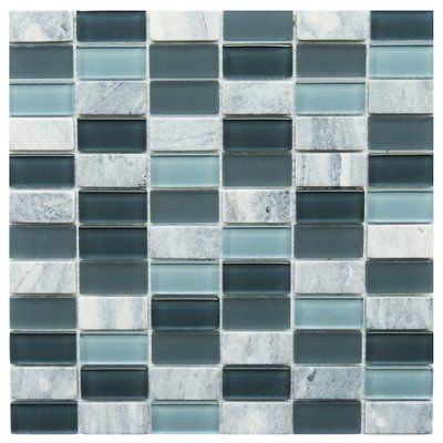 Novotilestudio Catania 1 X 2 Glass Mosaic Wall Floor Tile Wayfair Stone Mosaic Tile Ceramic Mosaic Tile Mosaic Glass