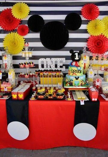 Decoraciones De Cumpleaños De Mickey Bebe Ideas Practicas Cumpleaños De Mickey Mouse Cumpleaños De Mickey Fiesta De Mickey Mouse