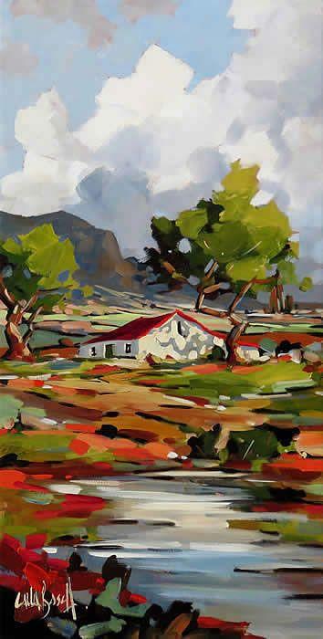 Robertson Art Gallery Carla Bosch Art Tutorials Watercolor Watercolor Landscape Paintings Art Painting Oil