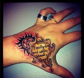 10 Supernatural Tattoos