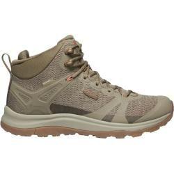 Keen Terradora Ii Mid Wp Damen Wanderschuhe Beige Timberwolf Coral 37 0 Eu Keen Produkte In 2020 Hiking Shoes Women Hiking Boots Hiking Shoes