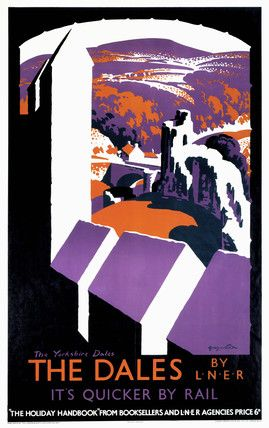 'The Dales', LNER poster, 1923-1947.