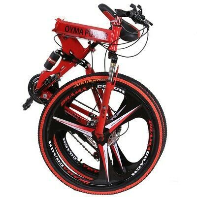 """Mountain Bike Full Suspension Shimano Brake 21 Speed  Bikes MTB 26/"""" Bicycle"""