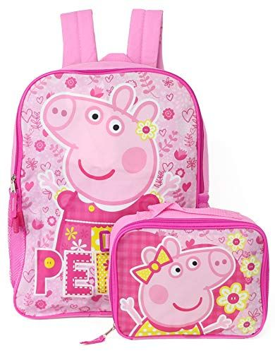 0448a353caa3c Amazing offer on Peppa Pig Backpack Detachable Insulated Lunch Box ...