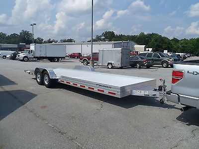 Car Hauler For Jeep New Featherlite 24 Ft Aluminum Open Car