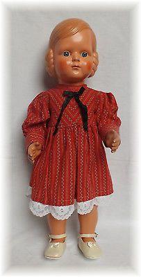 Cellba Puppe Helga Mit Affenschaukel Frisur Vintage Dolls