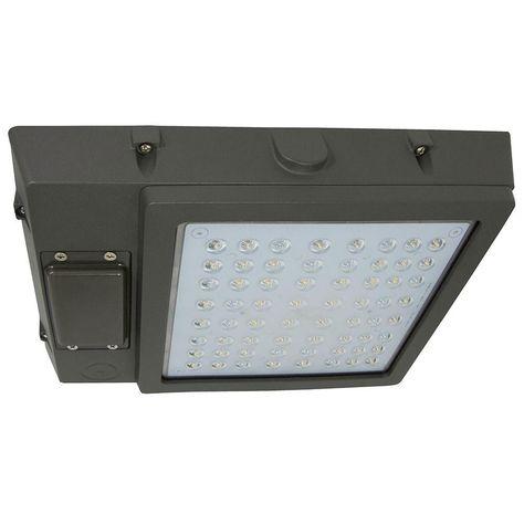 48-Watt Bronze Integrated LED Outdoor Garage Area Light