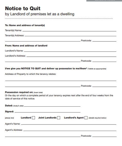 45 Eviction Notice Templates \ Lease Termination Letters Rental - notice to tenants template