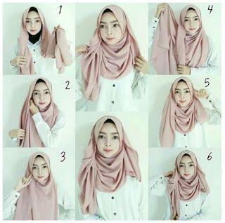 Tutorial Hijab Pashmina Untuk Acara Formal