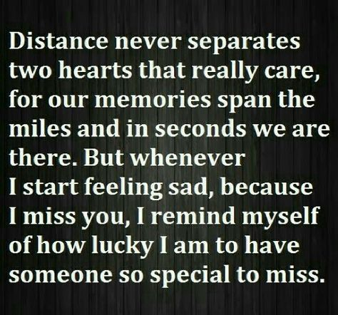 "♡☆ ""Distance never separates two Hearts that really Care!"" ☆♡"