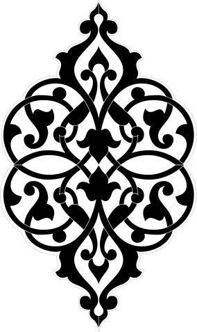 رشمات للمفارش Islamic Art Pattern Pattern Art Stencil Designs
