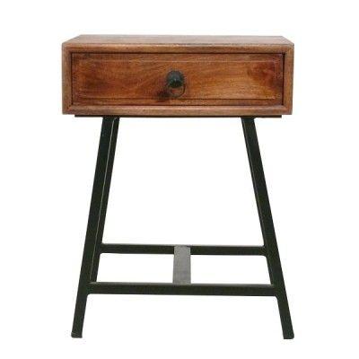Beistelltisch Und Nachttisch Vintage Industrial Mobel Regal Industrial Industrielle Mobel