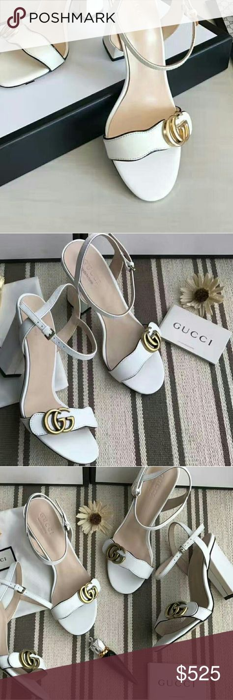 Gucci heels, Leather sandals, Gucci shoes