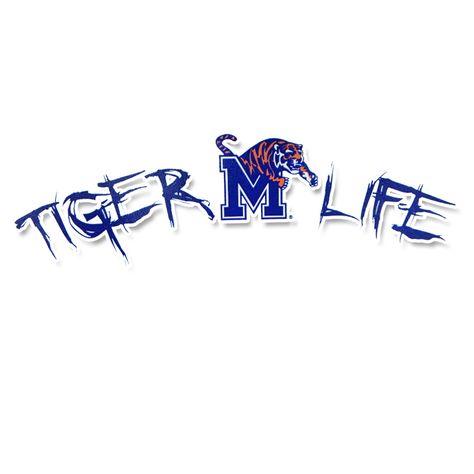 Memphis Tigers Letterman Pillow 18 x 18