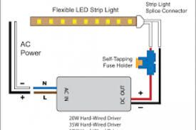 Image Result For Led Light Wiring Diagram Led Strip Lighting Led Lights Led