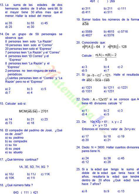 Matematicas Problemas Resueltos De Quinto De Primaria Pdf Sexto Grado Matemáticas De Primer Grado Lecciones De Matemáticas