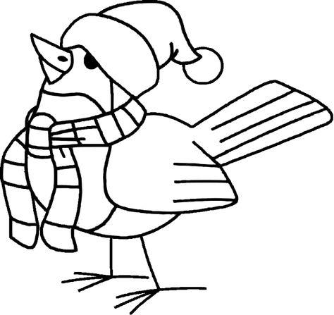 Kleurplaten Wintervogels.Vogels In De Winter 4 Google Trsene Winter Vogels En