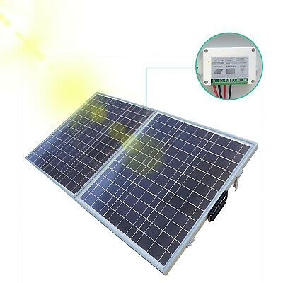 Advertisement Eco 100w Suitcase Folding Solar Panel 12v Battery Charger Portable Camping Boat In 2020 Solar Panels Flexible Solar Panels Solar Panel Mounts