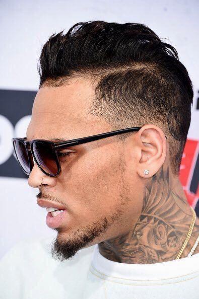 Chris Brown Hairstyle Chris Brown Hair Brown Hair Boy Brown Hair