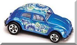 Mattel Hot Wheels 1999 1:64 Scale Surf N Fun Series Blue VW Bug Die Cast Car 2//4
