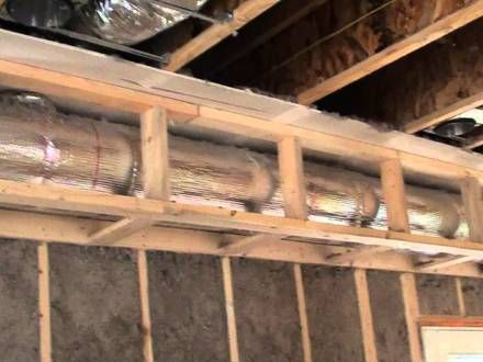 59 Framing Around Ductwork In Basement Rigid Ducts You Vendermicasa Org Duct Work Frames On Wall