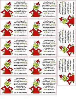 Print these little tags out to put on green tictacs, green m&m's or any green candy!Perfect for a staff treat or for anyone!Enjoy!
