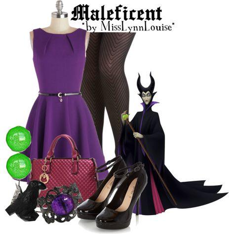 List Of Pinterest Disneybound Villians Maleficent Polyvore