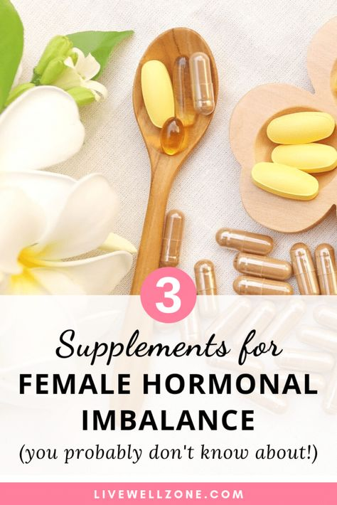 Using supplements for female hormonal imbalance doesn't have to be confusing or frustrating. Learn about 3 essential hormone balance supplements Supplements For Women, Best Supplements, Hormone Supplements, Hormone Diet, Menopause Supplements, Female Hormone Imbalance, Supplements For Inflammation, Supplements Online, Nutritional Supplements