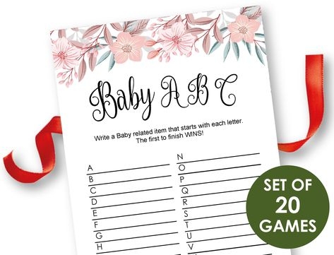 List Of Pinterest Nursery Rhymes Baby Shower Game Etsy Images