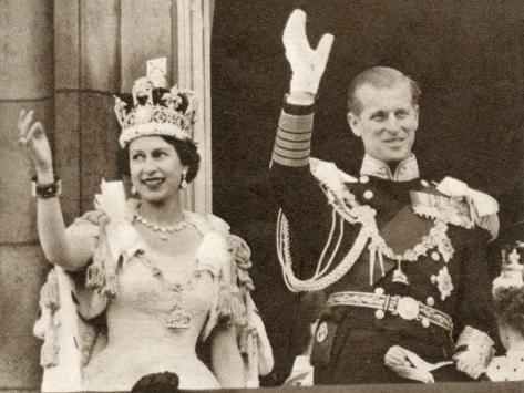 Coronation Of Queen Elizabeth Photographic Print Art Com In 2021 Queen S Coronation Queen Elizabeth Queen Of England