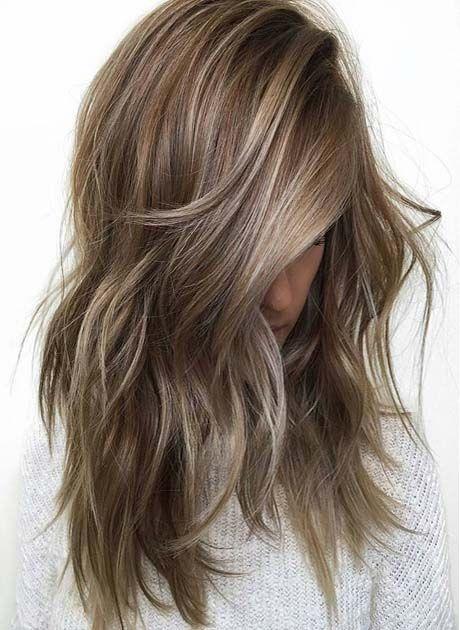 Best Color Melting Hair Ideas 2018 Ideas For Fashion Kapsels Haar Lang Haar