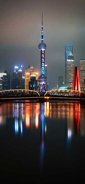 Pin By خلفيات On 4k Iphone Wallpapers City Lights At Night City Skyline Night Time
