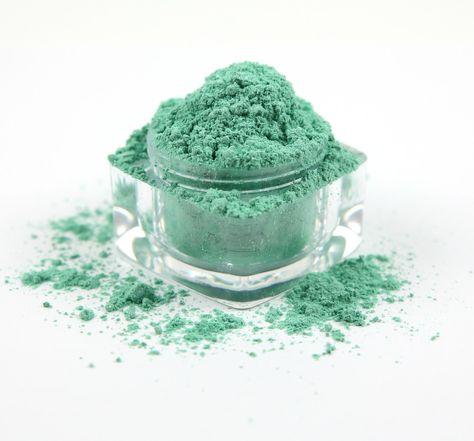 ENVY - Loose Powder Mineral Eye Shadow by DirtyGirlBeauty on Etsy