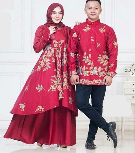 List Of Gamis Batik Kombinasi Satin Images And Gamis Batik Kombinasi