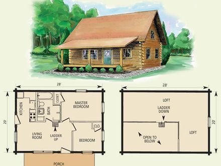 Small Log Cabin Home House Plans Small Log Cabins With Lofts Basic Log Cabin Plans Treesranch Co Log Cabin House Plans Log Cabin Floor Plans Log Cabin Plans