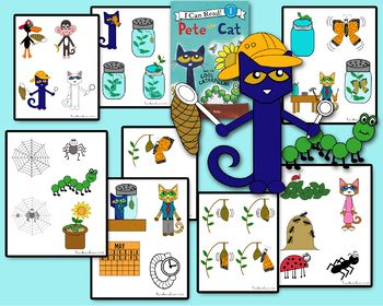 Visuals To Be Used With The New Pete The Cat And The Cool