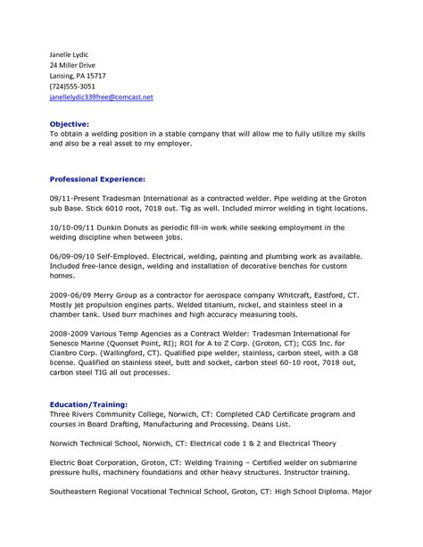 resume for welder 14 best resume images on pinterest welding