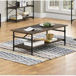 Rectangle Coffee Tables You Ll Love Wayfair With Images