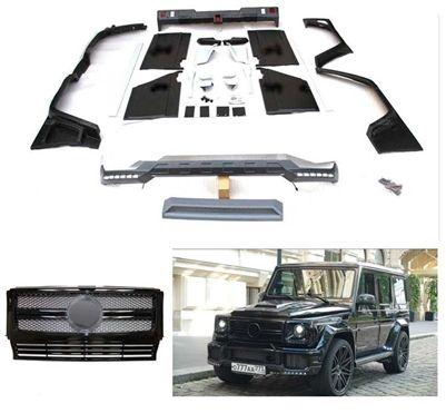 G Wagon Brabus Body Kit With Rear Bumper W463 1990 2017 G500 G63 G550 G55 G65 Body Kit G Wagon Bumpers