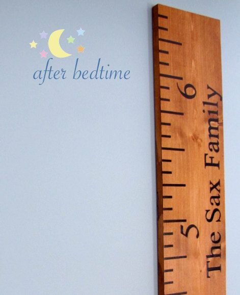 Giant Ruler To Hang In Your Home And Measure Your Kids Against No More Door Frames Left Behind When You Move And After Bedtime Donates 10 Of Every Sale 어린이 가구